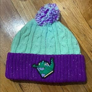 Nickelodeon Accessories - Rugrats Reptar Beanie!